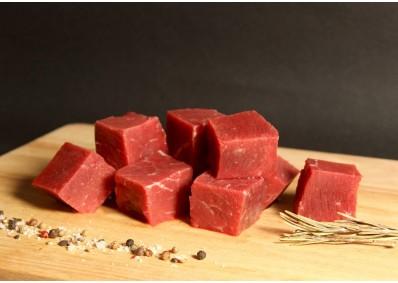 Viande à fondue ou à brochette d'Angus